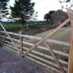 Wooden gates, made in Carlisle by bluebirch