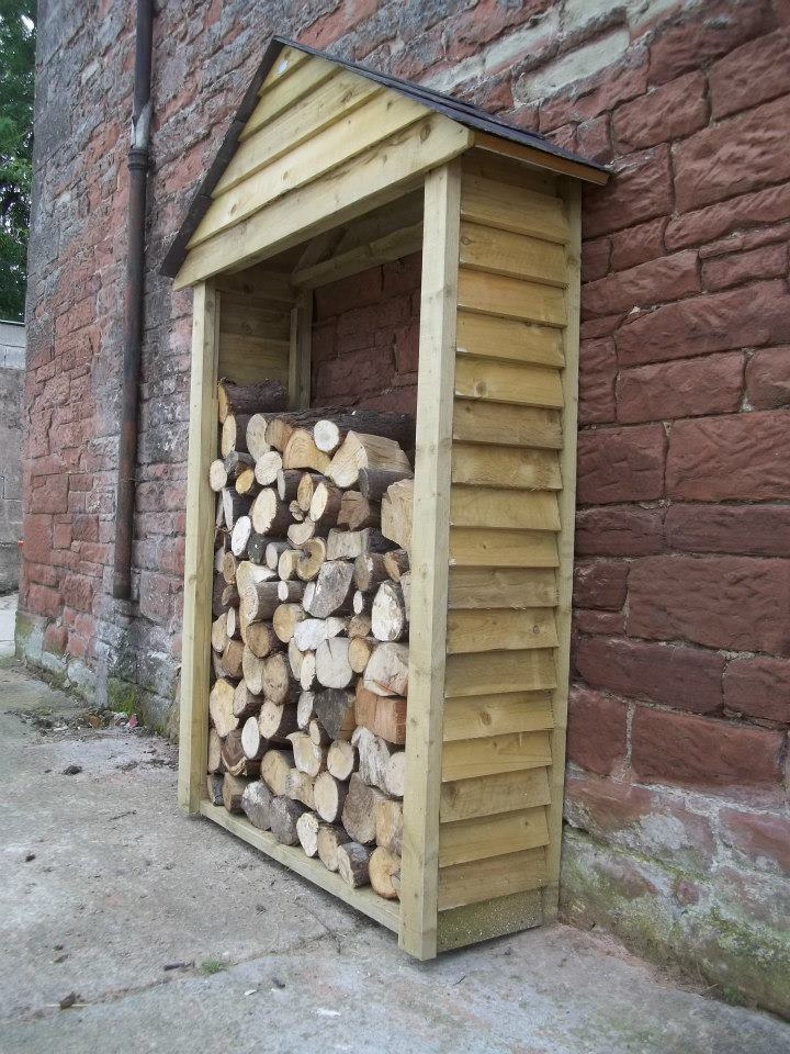 Log Sheds Amp Firewood Shelters In Carlisle Bluebirch